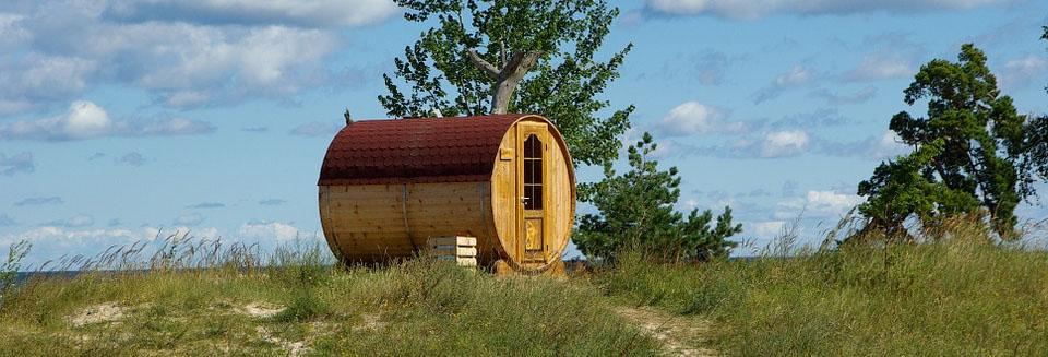 Sauna im Freien