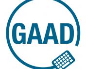 Logo Global Accessibility Awareness Day (GAAD)