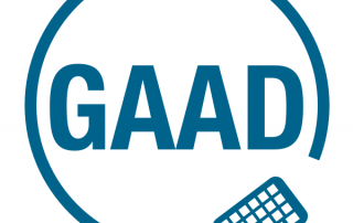 Logo Global Accessibility Awareness Day (GAAD)