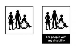 für Menschen mit jeglicher Art von behinderung, credit: Multiple Sclerosis Society