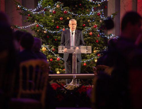 Weihnachtsfeier des Bundespräsidenten