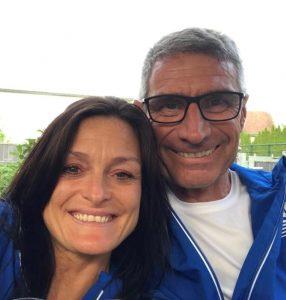Edi Horvath und Kollegin beim 16. Bad Erlacher Sparkassenlauf & 13. MS-Benefizwalk 2019