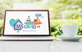 Digitaler Kaffeetisch der Young People's Network der European Multiple Sclerosis Platform
