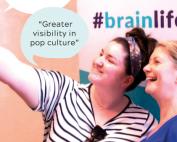 #BrainLifeGoals Plakat, Credit: EFNA