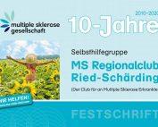 MS Regionalclub Ried-Schärding: Festschrift zum zehnjährigen Bestehen