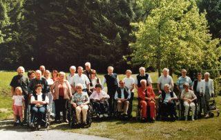 Multiple Sklerose Regionalclub Kirchdorf, ganz links Obmann Peter Grammer, Foto:privat
