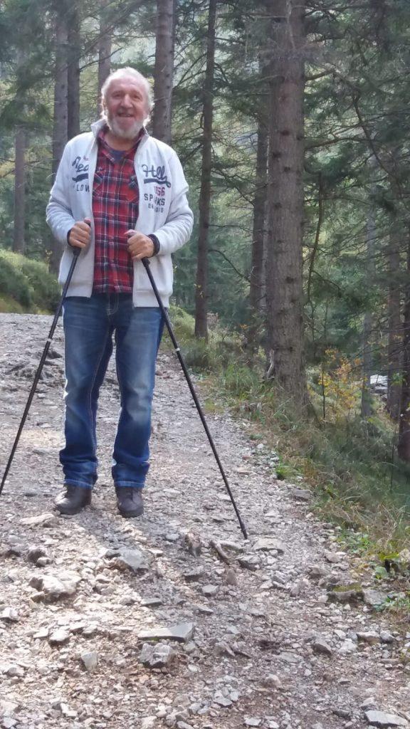Peter Grammer organisiert seit dreieinhalb Jahrzehnten Treffen für Menschen mit Multipler Sklerose in Oberösterreich. Foto: privat