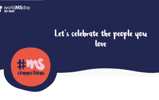 Logo Welt-MS-Tag. Text: Let´s celebrate the people you love.