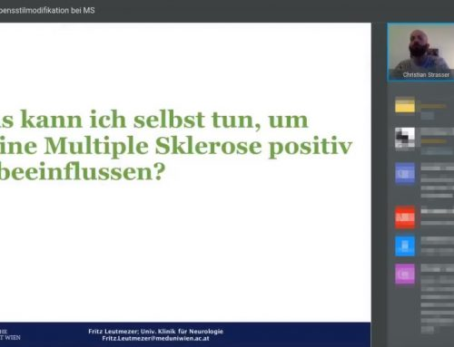 Webinar: Lebensstilmodifikation bei MS