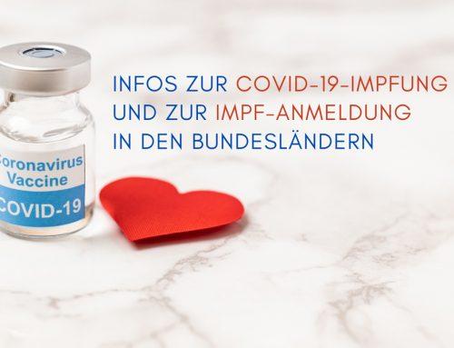 Infos zur COVID-19-Impfung und Anmeldung in den Bundesländern