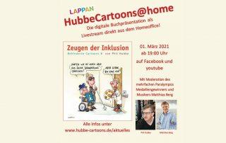 Ankündigung Buchpräsentation Phil Hubbe am 1. März 2021 um 19:00 Uhr, Credit: Phil Hubbe