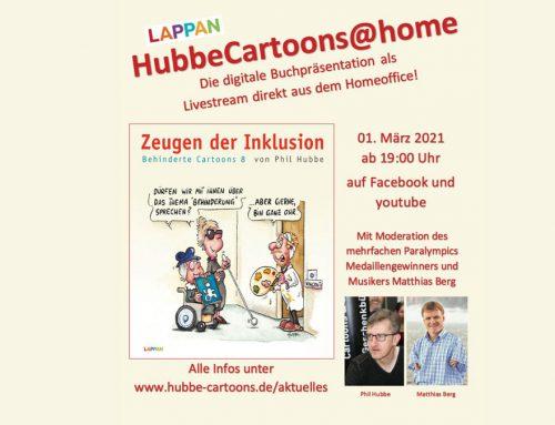 Behinderte Cartoons von Phil Hubbe