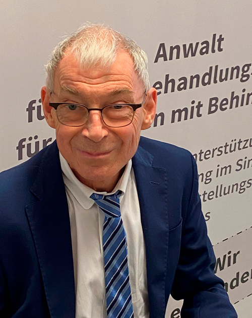 Dr. Hansjörg Hofer, Anwalt für Menschen mit behinderungen, Foto: HBA