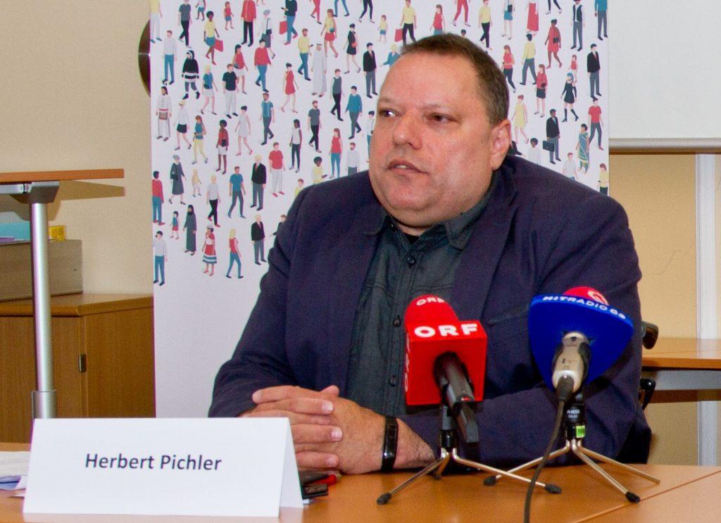 Behindertenrat-Präsident Herbert Pichler, Foto: Behindertenrat/Michael Janousek