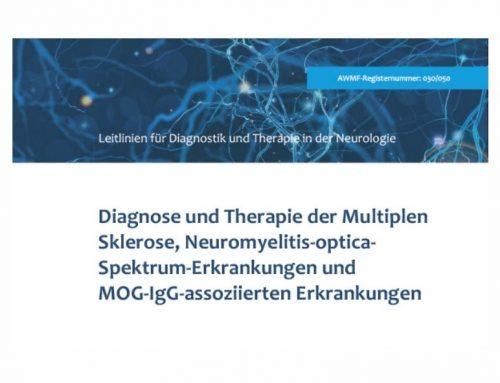 S2k-Leitlinie für Diagnostik und Therapie der Multiplen Sklerose