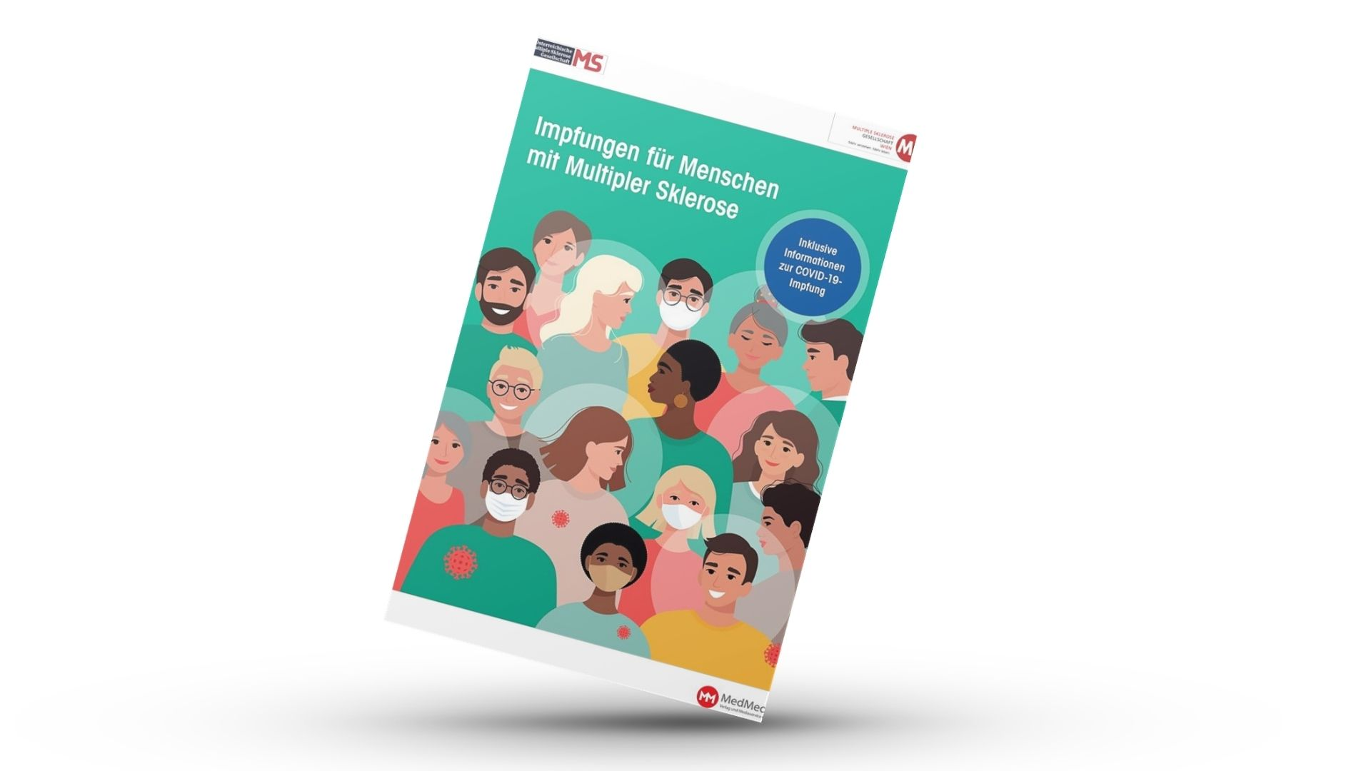 Broschüre Impfungen für Menschen mit Multipler Sklerose. Inklusive Informationen zur COVID-19-Impfung.