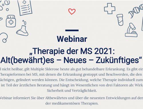 Therapie der Multiplen Sklerose 2021: Alt(bewährt)es – Neues – Zukünftiges