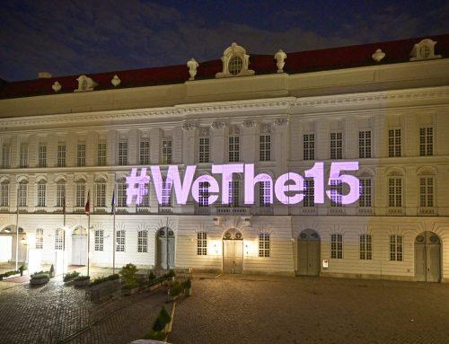 #WeThe15: Zeichen für Menschen mit Behinderungen