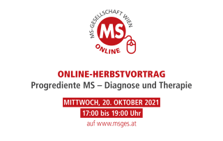 Herbstvortrag: Progrediente Multiple Sklerose – Diagnose und Therapie